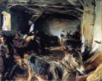 John Singer Sargent : Stable at Cuenca