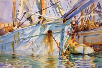 John Singer Sargent : In a Levantine Port