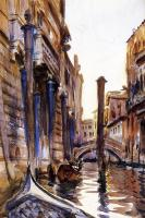 John Singer Sargent : Side Canal in Venice