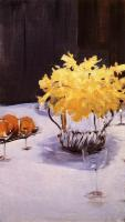 John Singer Sargent : Still Life with Daffodils