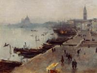 John Singer Sargent : Venice in Gray Weather