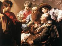 Hendrick Terbrugghen : The Calling of St Matthew