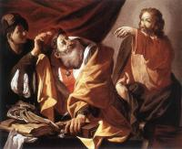Hendrick Terbrugghen : The Calling of St Matthew II