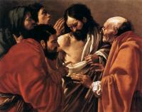 Hendrick Terbrugghen : The Incredulity of Saint Thomas
