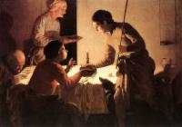 Hendrick Terbrugghen : The Supper