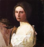 Abbott Handerson Thayer : Study of Alma Wollerman