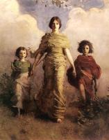 Abbott Handerson Thayer : The Virgin