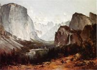 Thomas Hill : A View of Yosemite Valley