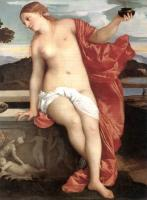 Titian : Sacred and Profane Love detail