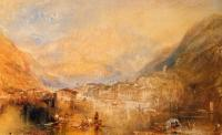Joseph Mallord William Turner : Brunnen, from the Lake of Lucerne