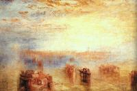 Joseph Mallord William Turner : Approach to Venice