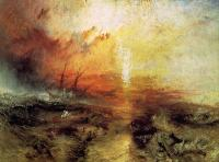 Joseph Mallord William Turner : The Slave Ship