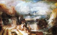 Joseph Mallord William Turner : The Parting of Hero and Leander from the Greek of Musaeus