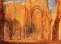 Joseph Mallord William Turner : Interior of Fountains Abbey, Yorkshire