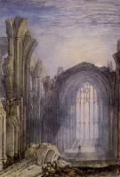 Joseph Mallord William Turner : Melrose Abbey