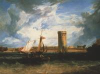 Joseph Mallord William Turner : Tabley, the Seat of Sir J.F. Leicester