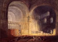 Joseph Mallord William Turner : Transept of Ewenny Priory, Glamorganshire