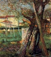 Umberto Boccioni : Countryside with Trees