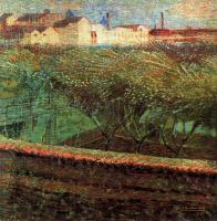 Umberto Boccioni : April Evening