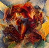 Umberto Boccioni : Dynamism of a Soccer Player