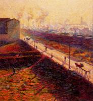 Umberto Boccioni : The Morning