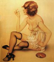 Alberto Vargas : Smoke Dreams