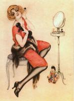 Alberto Vargas : Pin up girl III