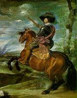 Diego Rodriguez De Silva Velazquez : The Count-Duke of Olivares on Horseback
