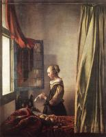 Jan Vermeer : Girl Reading a Letter at an Open Window