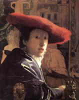 Jan Vermeer : Girl with a Red Hat