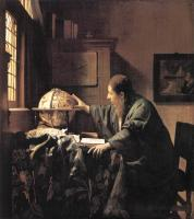 Jan Vermeer : The Astronomer