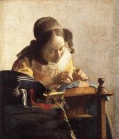 Jan Vermeer : The Lacemaker
