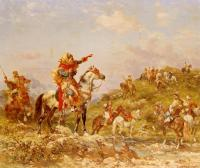 Georges Washington : Arab Warriors on Horseback