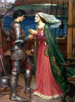 John William Waterhouse : Tristan and Isolde with the Potion