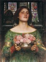 John William Waterhouse : Gather Ye Rosebuds while ye may