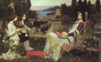 John William Waterhouse : Saint Cecilia