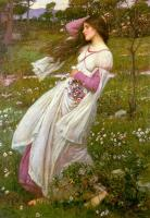 John William Waterhouse : Windswept