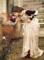 John William Waterhouse : At the Shrine