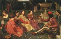 John William Waterhouse : A Tale from Decameron