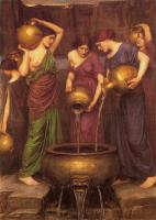 John William Waterhouse : The Danaides