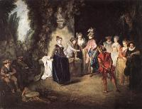 Jean-Antoine Watteau : The French Comedy