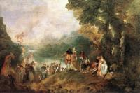Jean-Antoine Watteau : The Embarkation for Cythera