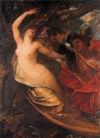 George Frederick Watts : G F Orlando Pursuing the Fata Morgana