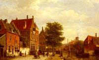 Willem Koekkoek : Along The Canal