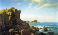 William Stanley Haseltine : Nahant Rocks