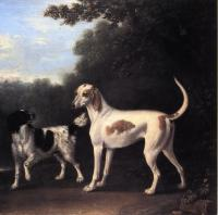 John Wootton : Two of the Duchess of Marlborough's Dogs
